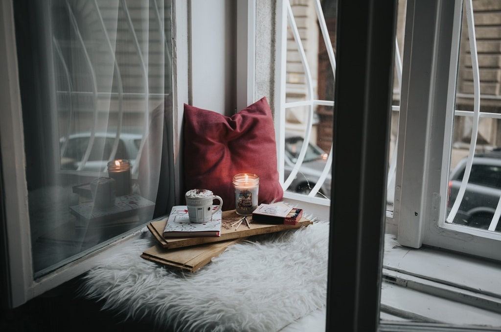cozy windowsill, things to do immediately after a psychedelic experience