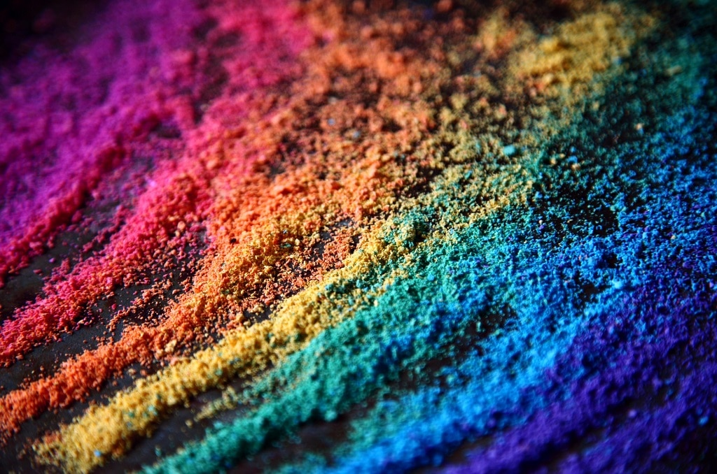 rainbow chalk, benefits and risks of natural and synthetic psychedelics