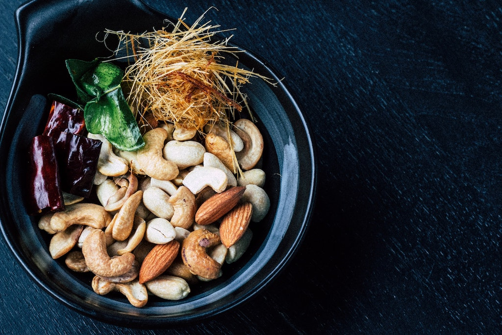 bowl of assorted nuts, how ketosis fasting impacts the psychedelic experience