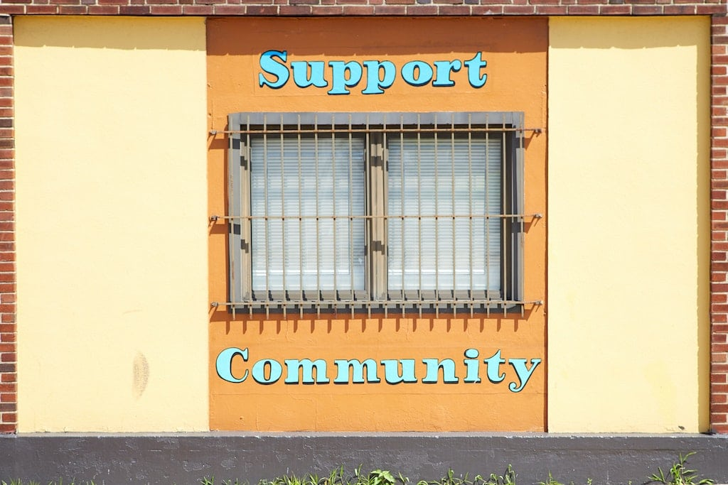 window with community and support painted, how to prepare for a psychedelic journey