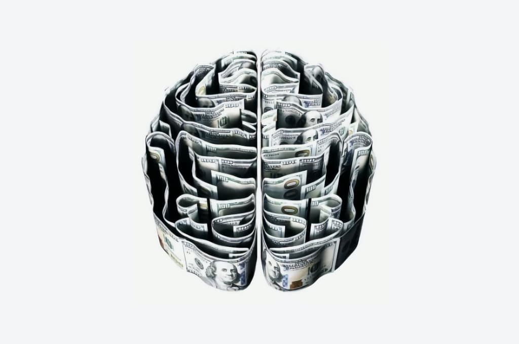 dollar bills in the shape of a brain, psychedelic revenue and lobbying