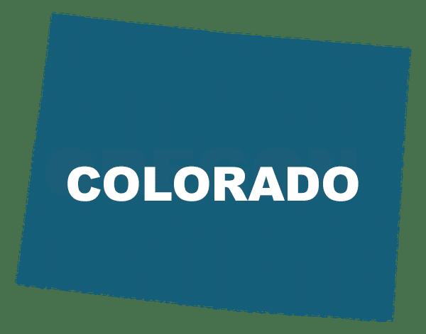 Colorado State outline