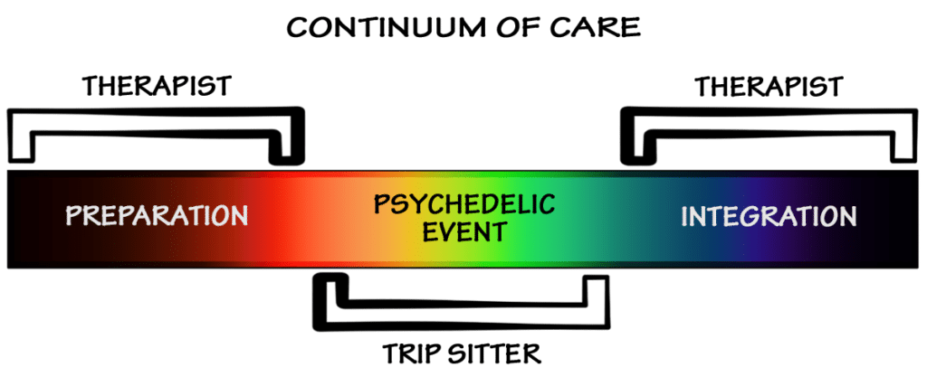 Psychedelic Passage Continuum of Care
