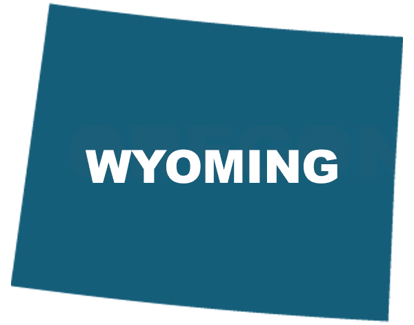 Wyoming State Outline