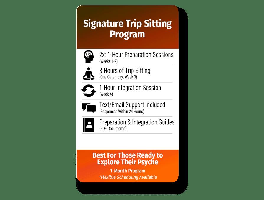 Signature Trip Sitting Program Features